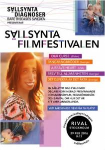 Sällsynta filmfestivalen, affisch